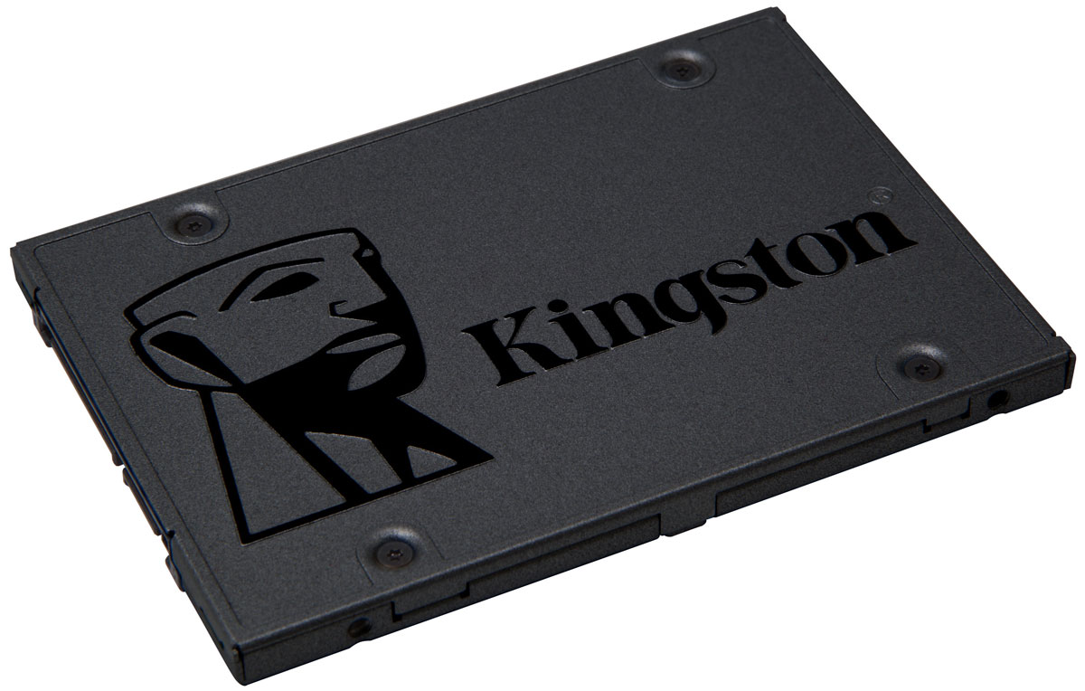 Kingston A400 120Gb SSD-накопитель (SA400S37/120G) kingston kc1000 960gb ssd накопитель