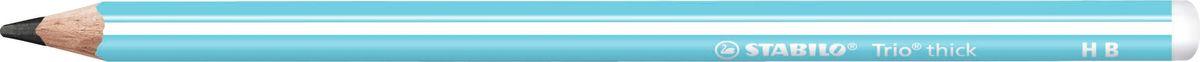 STABILO Карандаш чернографитный Trio 399 цвет корпуса голубой rt trio diamond 120