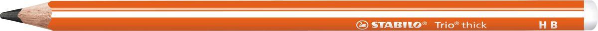 STABILO Карандаш чернографитный Trio 399 цвет корпуса оранжевый rt trio diamond 120