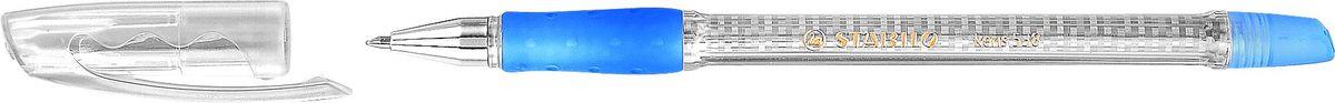 STABILO Ручка шариковая Keris 538 XF синяя538/41XFSTABILO keris 538Шариковая ручка с заменяемым стержнем. Специальная технология фиксирования пишущего шарика защищает от утечки чернил, обеспечивает тонкую аккуратную линию и мягкое скольжение. Увеличенный запас чернил. Корпус модели украшен рисунком с эффектом голограммы. Каучуковая зона обхвата снижает напряжение при письме. Валик-фиксатор предотвращает скатывание ручки. Толщина линии XF -0,2 мм. Цвет чернил синий.