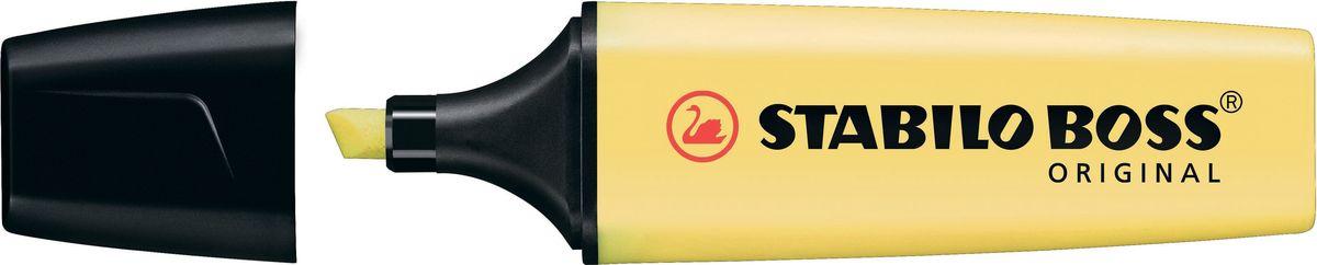 STABILO Текстовыделитель Boss Original Pastel цвет ваниль70/144Классика в пастельных тонах - модный тренд, который набирает обороты.STABILO Boss Original Pastel - первый текстовыделитель на рынке качественных текстовыделителей, ориентированный на течение в индустрии моды, захватившее всех. Выполненный в спокойной цветовой гамме, STABILO Boss Original Pastel предлагает свежее решение, превращаясь в стильный и актуальный аксессуар. Его краски ассоциируются с летом, солнцем теплом. Им можно выделять, писать, подчеркивать, рисовать! Помимо достойного дизайна, STABILO Boss Original Pastel отличает безупречное качество. Текстовыделитель минимум 4 часа сохраняет работоспособность без колпачка, а при закрытом колпачке восстанавливает свои свойства! Непревзойденная длина линии позволяет выделить огромное количество информации. Высокая светостойкость чернил обеспечивает сохранность линий на долгие годы. Прочный, износоустойчивый наконечник гарантирует постоянство толщины линии на протяжении всего срока службы.