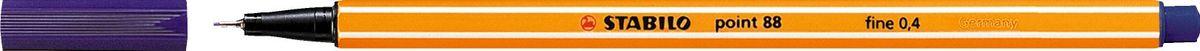 STABILO Ручка капилярная Point 88 берлинская лазурь88/22STABILO Point 88 Капиллярная ручка идеально подходит для особо легкого и мягкого письма, рисования и черчения. Металлическое обжатие наконечника дает возможность работать с линейками и трафаретами. Высокое качество износостойкого пишущего наконечника и большой запас чернил значительно увеличивают срок службы ручки. Ручка долгое время сохраняет работоспособность без колпачка. Чернила на водной основе. Цвет колпачка соответствует цвету чернил. Толщина линии 0,4 мм. 10 шт. в упаковке.