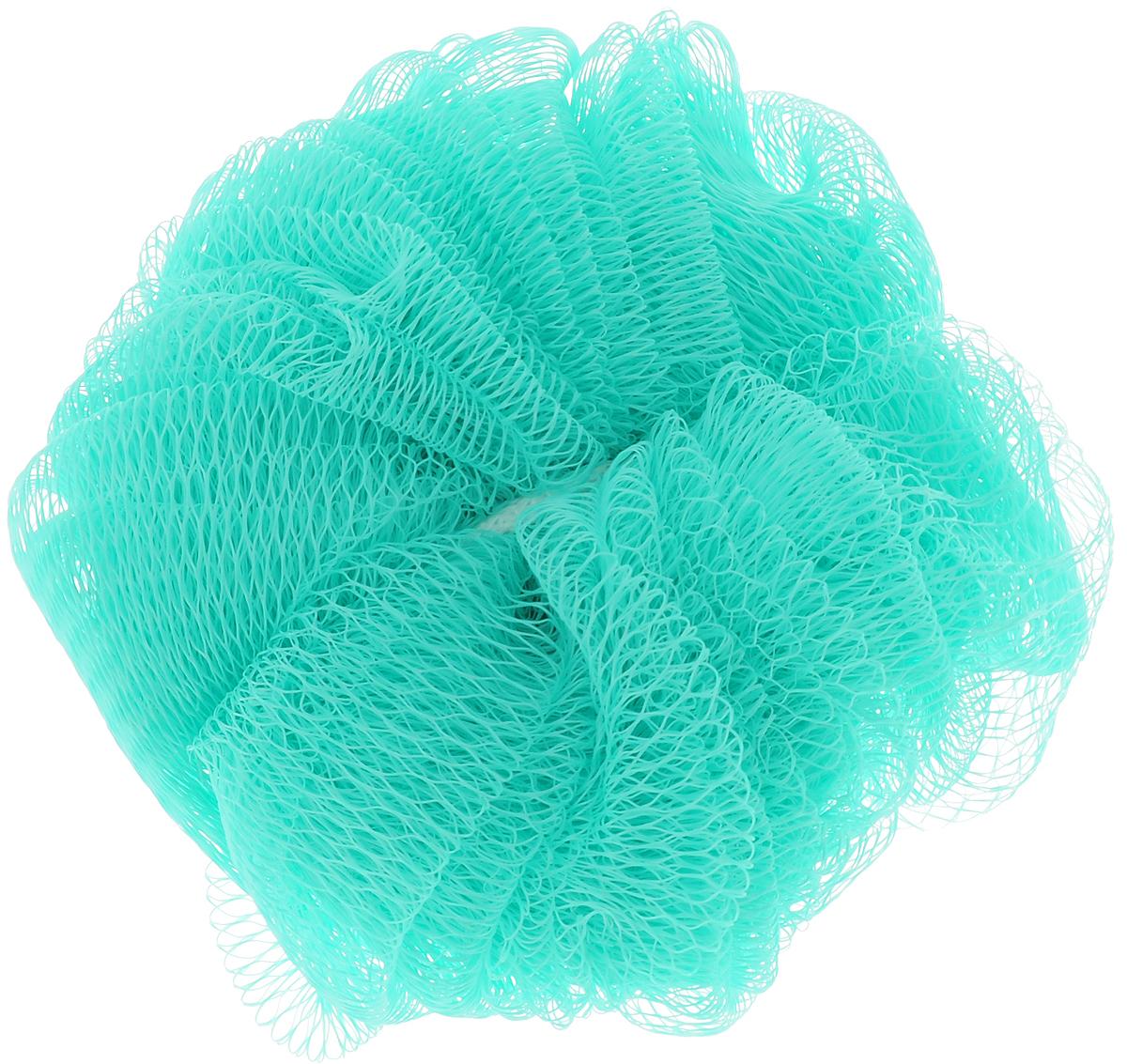 Мочалка Paterra, цвет: зеленый, 14 см408-061_зеленыйПодарит чистоту и блаженство вашей коже! Благодаря своей структуре мочалка-шар обеспечивает отличное пенообразование, тем самым экономя средства для душа, долго прослужит и подойдет для ежедневного использования.