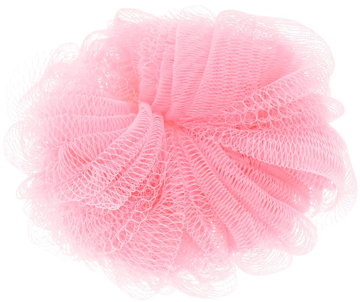 Мочалка Paterra, цвет: розовый, 14 см408-061_розовыйПодарит чистоту и блаженство вашей коже! Благодаря своей структуре мочалка-шар обеспечивает отличное пенообразование, тем самым экономя средства для душа, долго прослужит и подойдет для ежедневного использования.