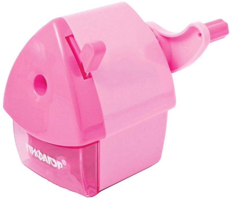 Пифагор Точилка Домик гнома цвет розовый222521_розовыйПифагор Точилка Домик гнома цвет розовый