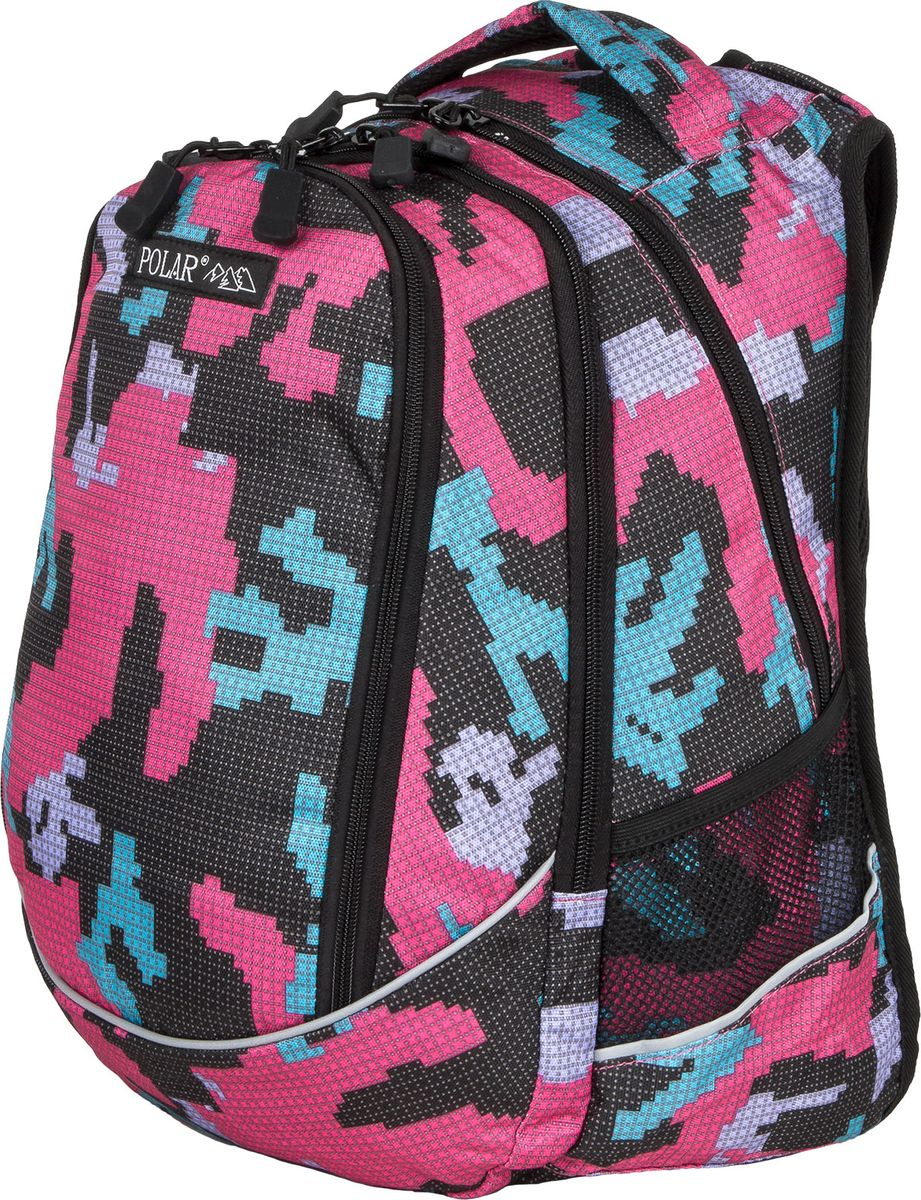 Рюкзак молодежный Polar, цвет: фуксия, 24 л. 17301 рюкзак polar polar po001burvn31