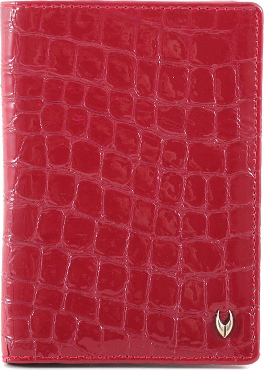 Обложка для паспорта женская Ventoro, цвет: красный. п035 Ven кроко