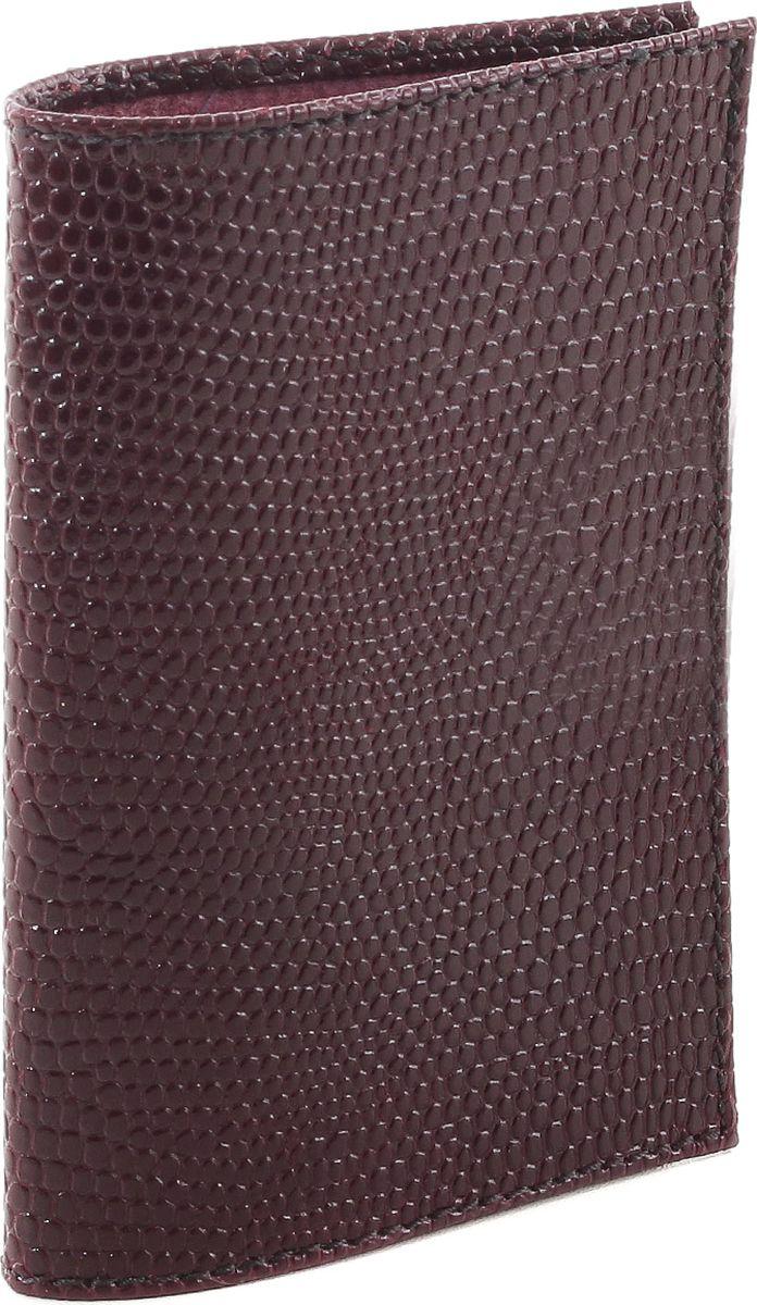 Обложка для паспорта женская Fiato, цвет: темно-сливовый. р4000 FIATO В-14р4000 FIATO В-14 (обложка женская)Обложка для паспорта итальянского бренда Fiato от известной дизайнерской студии Sepani lab, сделана из натуральной кожи.