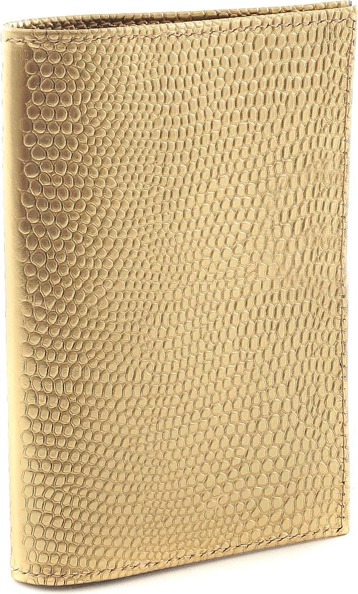 Обложка для паспорта женская Fiato, цвет: золотистый. р4000 FIATO В-52р4000 FIATO В-52 (обложка женская)Обложка для паспорта итальянского бренда Fiato от известной дизайнерской студии Sepani lab, сделана из натуральной кожи.