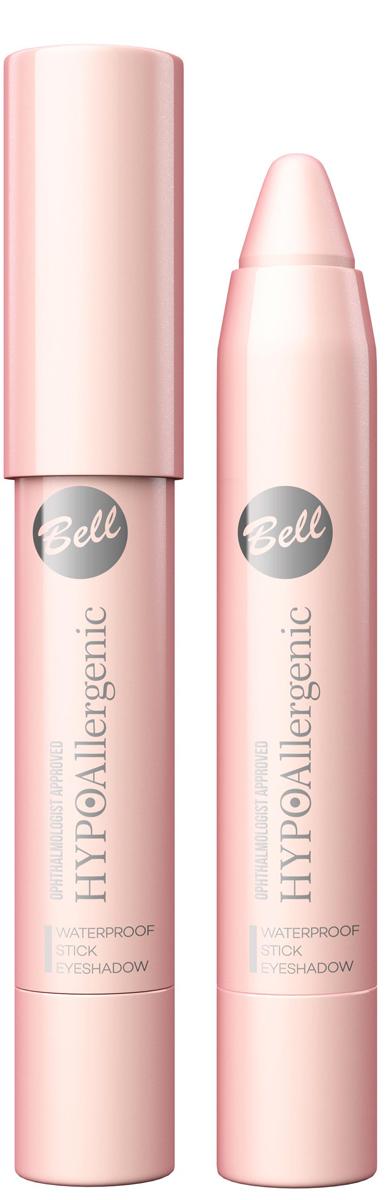Bell Hypoallergenic Тени для век в карандаше Waterproof Stick Eyeshadow, Тон №01BcsHA001