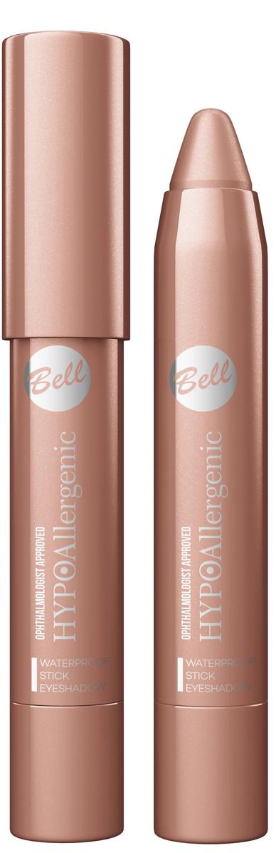 Bell Hypoallergenic Тени для век в карандаше Waterproof Stick Eyeshadow, Тон №042001019