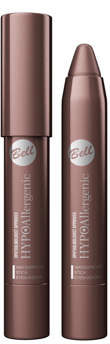 Bell Hypoallergenic Тени для век в карандаше Waterproof Stick Eyeshadow, Тон №06 bathroom mildewproof waterproof christmas bell shower curtain