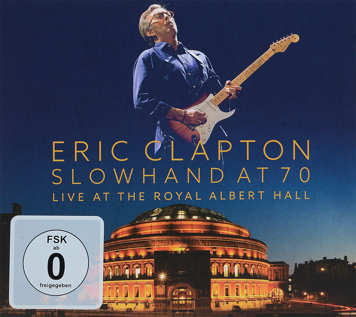 Eric Clapton: Slowhand At 70: Live At The Royal Albert Hall (DVD+2CD) magnum live in concert