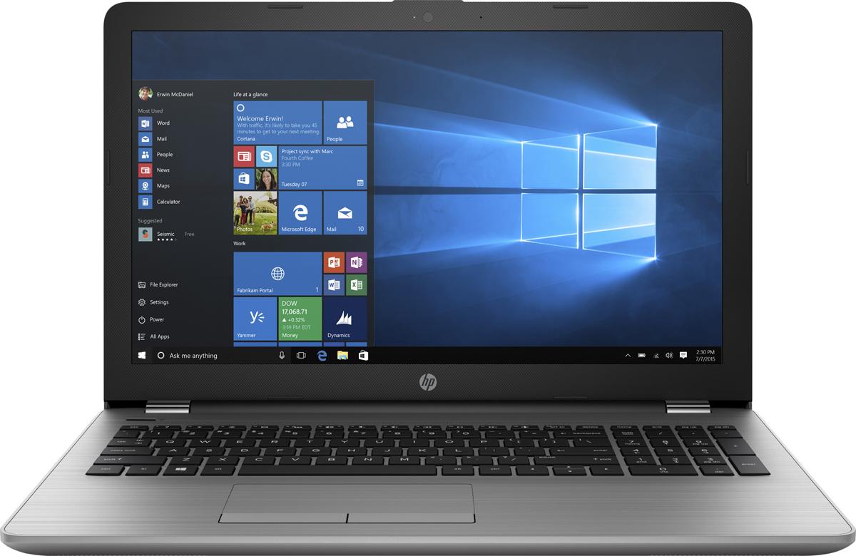 HP 250 G6, Silver (1XN72EA)503471Есть VGA-разьём, Слот для замка безопасности
