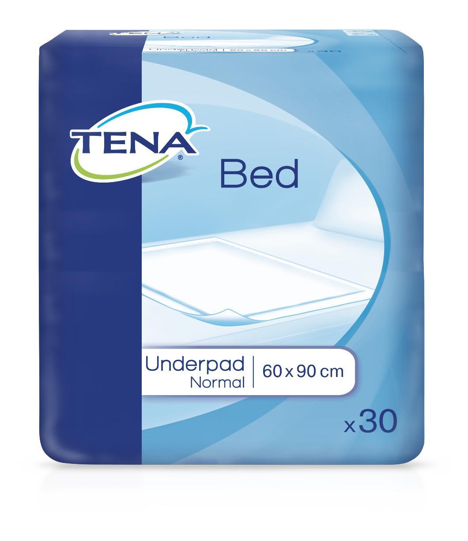 Впитывающие пеленки Tena Bed Normal, 60 см x 90 см, 30 шт tena on s string vol 4