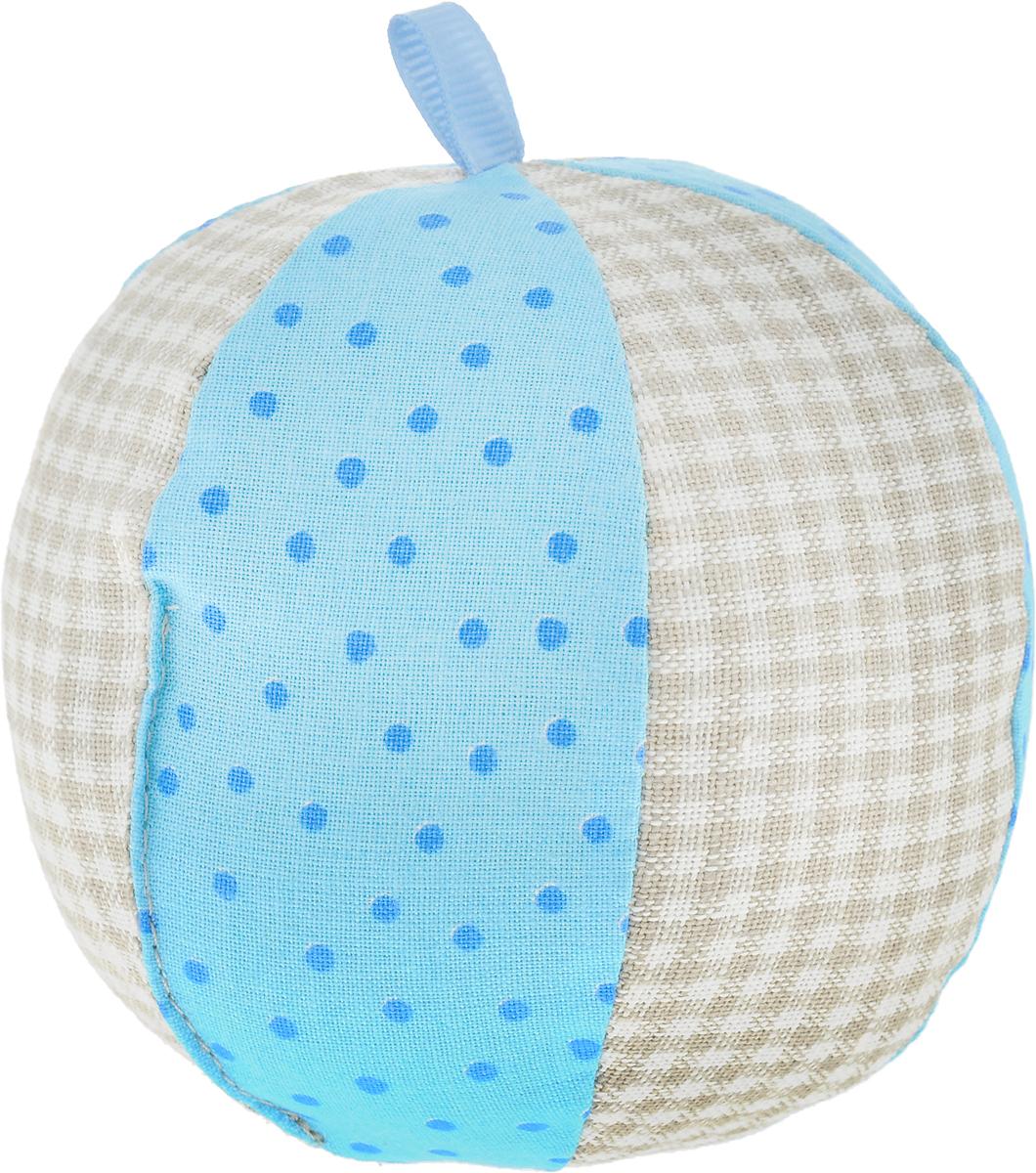 Мякиши Развивающая игрушка ЭкоМякиши Мячик цвет голубой