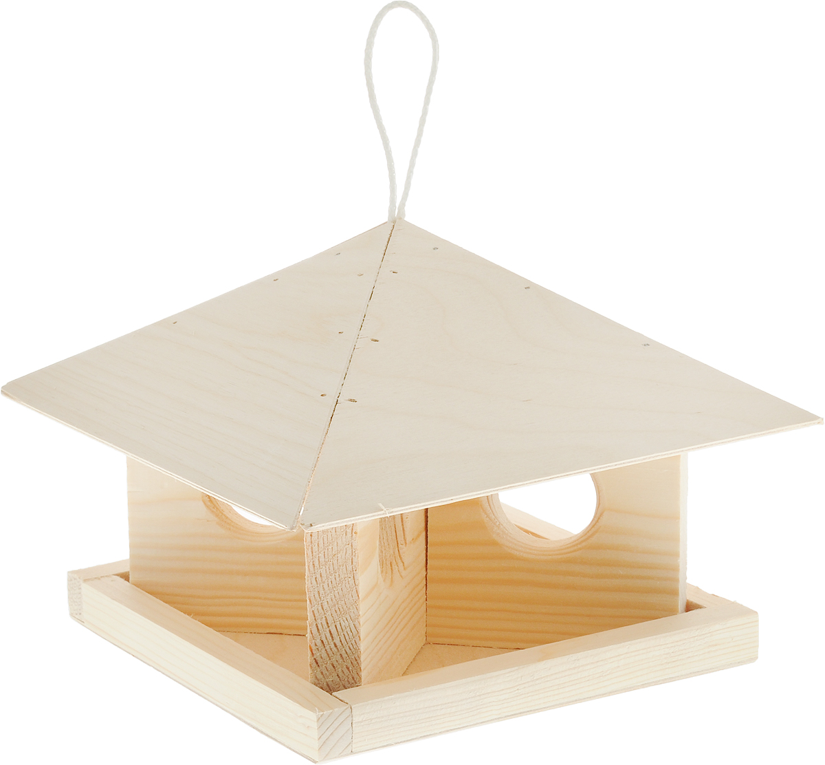 Кормушка для птиц Шатер, 23 х 23 х 18 см домик для птиц gardman домик для птиц gardman 24 см