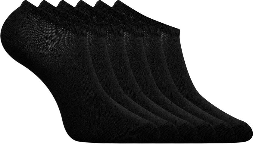 купить Носки женские oodji, цвет: черный, 6 пар. 57102433T6/47469/2900N. Размер 38/40 дешево
