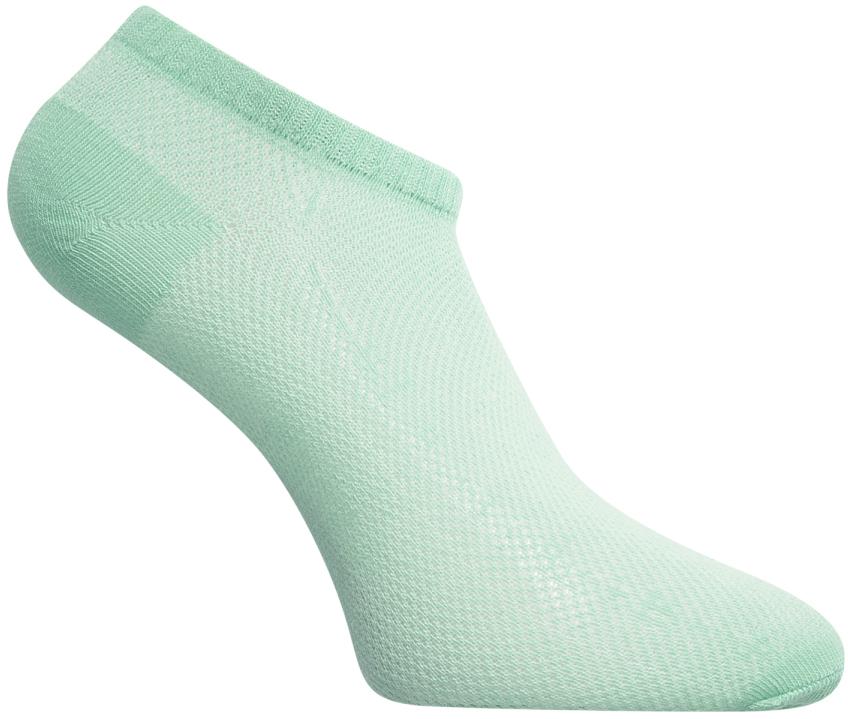 Носки женские oodji, цвет: ментоловый. 57102438/15841/6500N. Размер 35/3757102438/15841/6500NКороткие женские носки от oodji ажурного плетения из хлопка с добавлением полиамида. Благодаря дышащему материалу носки прекрасно подходят для спорта и активного отдыха. Они удобны и эластичны. Сбоку носки украшает надпись. Более плотный в области пятки и пальцев материал повышает долговечность носков. Короткие носки отлично носятся под кроссовки и кеды. Благодаря небольшой длине их практически не видно.