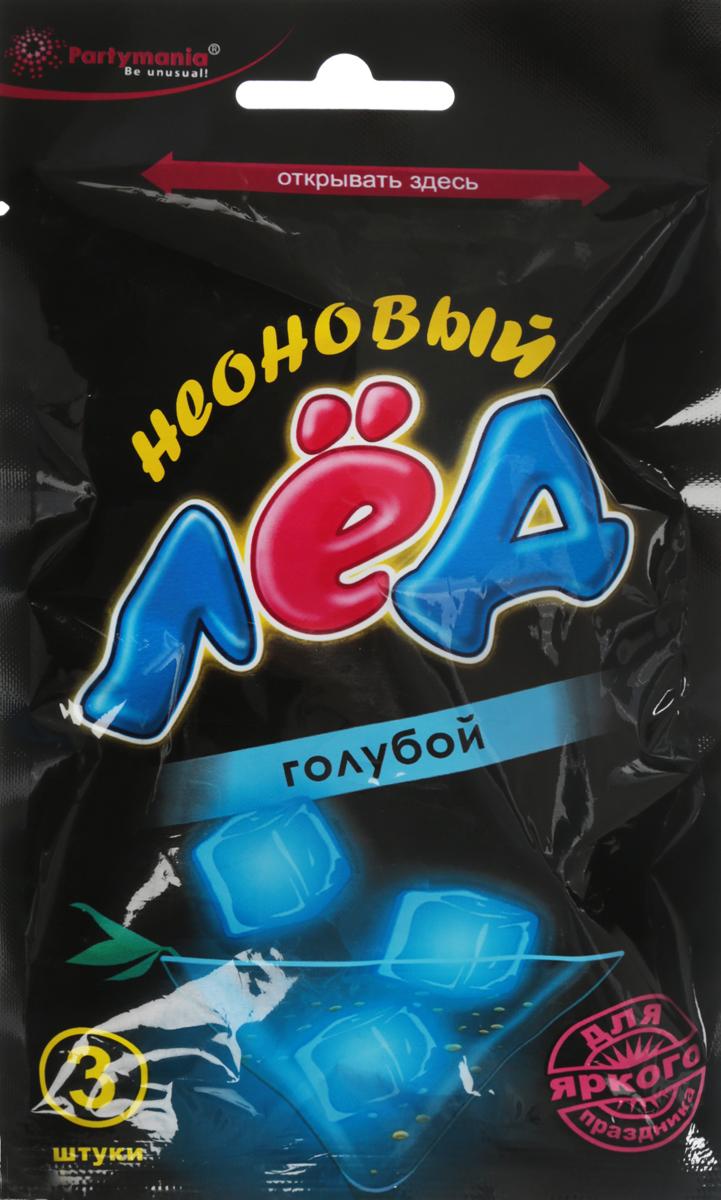 Partymania Неоновый лед цвет голубой partymania галстук карнавальный цвет зеленый