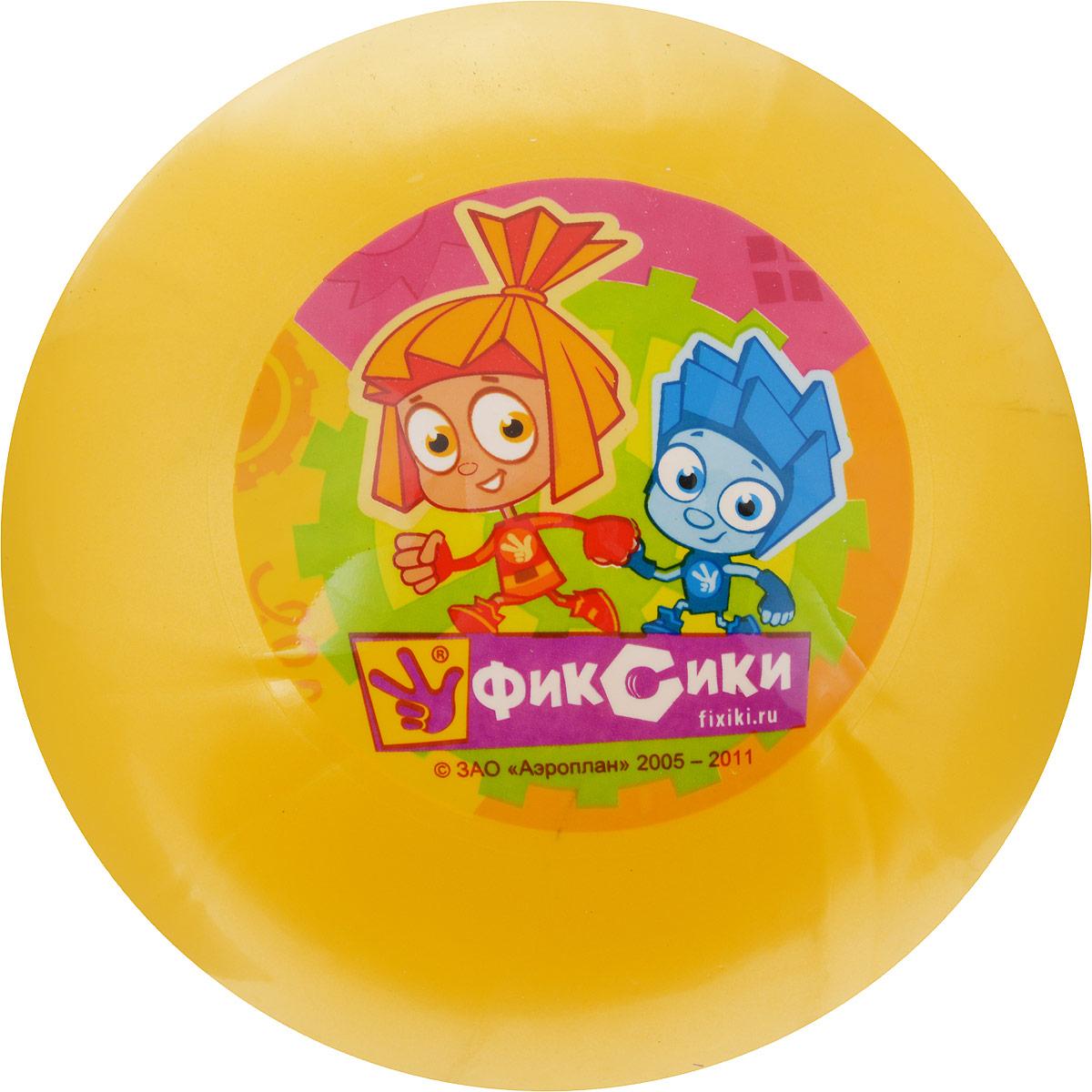 Играем вместе Мяч Фиксики цвет желтый 23 см