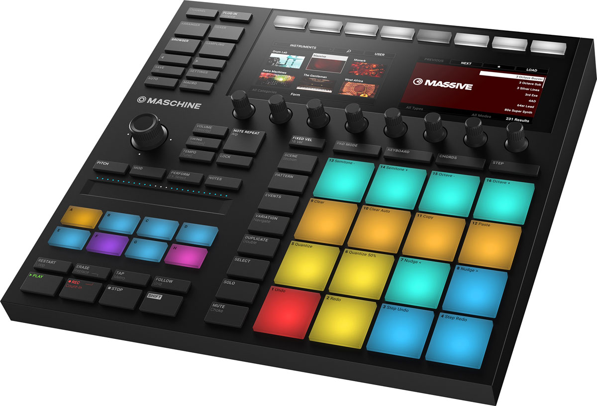 Native Instruments Maschine Mk3, Black MIDI-контроллер