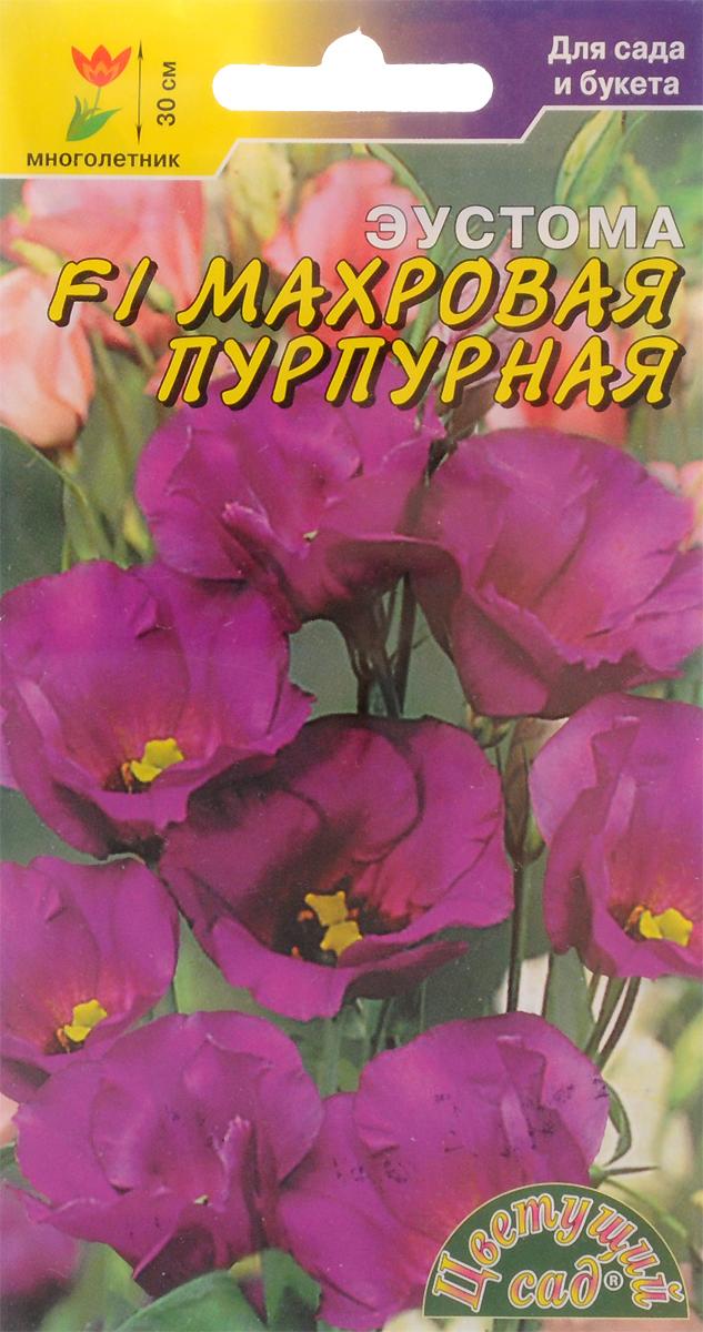Семена Цветущий сад Эустома. Махровая пурпурная4607021814034Эустома, лизиантус, ирландская роза - вот неполный перечень названий этого прекрасного растения, котороедействительно можно принять за необыкновенную розу. Этот цветок поистине красив и необыкновенен,отличается широким спектром цветов и оттенков от белого, зеленого, розового до малинового, фиолетового итемно-синего цвета.Агротехника.Предпочитает солнечное место. Требуется обильный полив по мере подсыхания почвы и частое опрыскиваниелистьев. Зимует при температуре +10 °С. Еженедельные подкормки способствуют более пышному ипродолжительному цветению. Семена высевают с февраля по август в ящики с легким песчаным грунтом, слегкавдавливая их в почву. Посадочную емкость накрывают стеклом и ставят в освещенное теплое место, почвуподдерживают во влажном состоянии. Оптимальная температура почвы для прорастания +20-25oC, всходыпоявляются через 10-15 дней. Сеянцы необходимо притенять, пикировать через месяц после всходов по 3-5 штук вгоршок, диаметром 10-15 см, с питательной рыхлой почвой. Цветение через 6-7 месяцев.Товар сертифицирован.Уважаемые клиенты! Обращаем ваше внимание на то, что упаковка может иметь несколько видов дизайна.Поставка осуществляется в зависимости от наличия на складе.