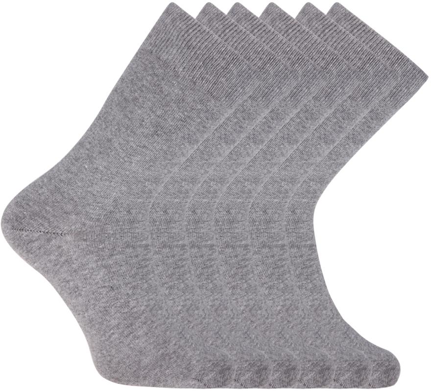 Носки мужские oodji, цвет: темно-серый меланж, 6 пар. 7B263001T6/47469/2500M. Размер 40/437B263001T6/47469/2500MНабор из шести пар базовых носков от oodji. Плотная трикотажная резинка надежна – носки не сползают в самый неподходящий момент и при этом комфортны в ношении. Вы практически не будете ощущать их на ногах. Плотный тонкий эластичный трикотаж приятен на ощупь и комфортен для ног. Комплект из шести пар одинаковых носков – отличное решение для любого гардероба. Такой набор практичен: носки можно реже стирать, у вас в запасе всегда будет хотя бы одна свежая пара. А что самое приятное, одинаковые носки удобно сортировать после стирки. Вы потратите на это утомительное занятие гораздо меньше времени! Базовые носки прекрасно подходят для делового, повседневного и спортивного гардероба. Их можно надеть, отправляясь на работу, пробежку или собираясь на вечеринку. Носки хорошо сочетаются с кроссовками, кедами и туфлями, при этом практически незаметны. С таким набором вы решите многие проблемы!