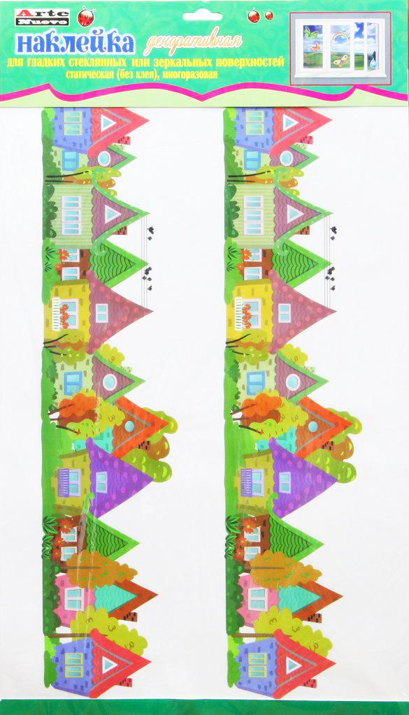 Наклейка декоративная на стекло Arte Nuevo Лето, 33 х 60 см. 2DN-WM-2SUM2DN-WM-2SUMНаклейка декоративная на стекло Arte Nuevo Лето выполнена из самоклеящегося материала.Благодаря самоклеящейся поверхности, наклейка легко наклеивается и отклеивается, не оставляя следов.