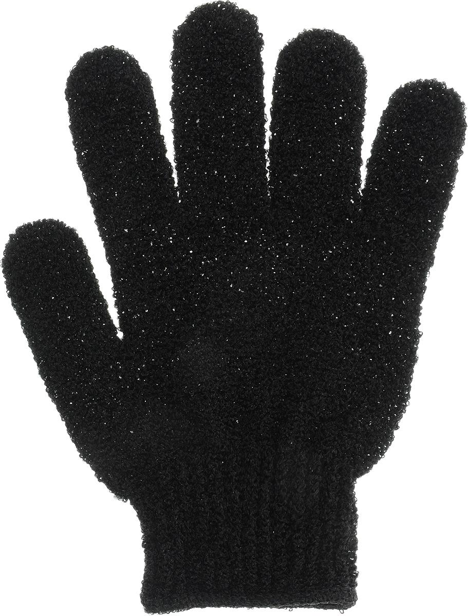 Перчатка массажная The Body Time Fantasy line, цвет: черный, 17,5 х 12,5 см57201_черныйМассажная перчатка The Body Time выполненная из нейлона, прекрасно массирует, тонизирует и очищает кожу. Обладая эффектом скраба, перчатка мягко отшелушивает верхний слой эпидермиса, стимулируя рост новых, молодых клеток, делая кожу здоровой и красивой.Как ухаживать за ногтями: советы эксперта. Статья OZON Гид