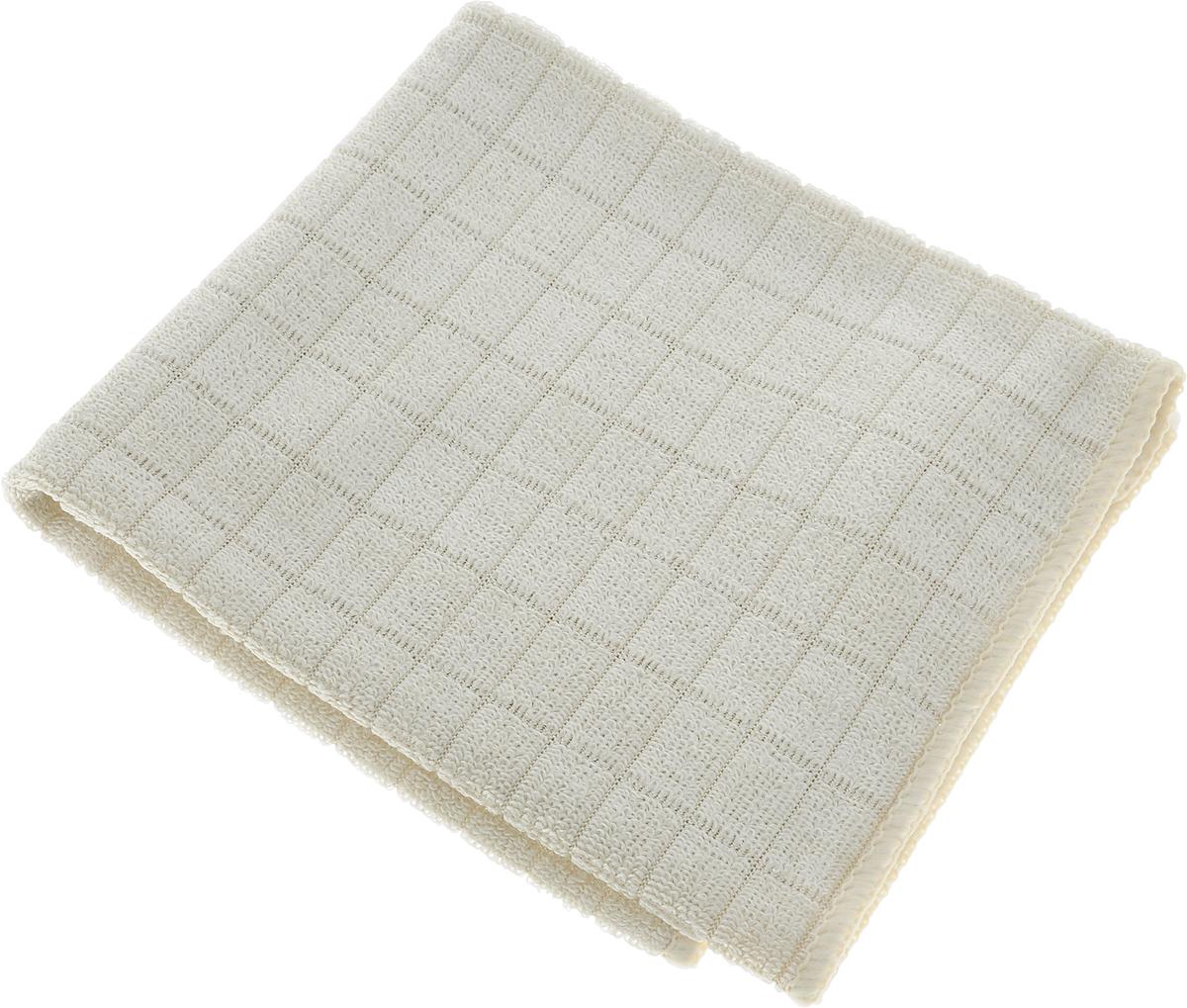 Салфетка для мытья и полировки автомобиля Sapfire Micro Lines, цвет: бежевый, 30 х 40 см3005-SFM_бежевыйТехнология изготовления Микрофибры Сапфир гарантирует великолепные чистящие и адсорбирующие свойства, повышенную мягкость, плотность и длительность использования. Микролинии усиливают чистящие свойства салфетки, позволяют эффективно бороться с загрязнениями на любых поверхностях. Клиновидные микроскопические волокна захватывают и легко удерживают частички пыли, жировой и никотиновый налет, микроорганизмы, в том числе болезнетворные и вызывающие аллергию. Обладает уникальной способностью быстро впитывать большой объем жидкости (в 8 раз больше собственной массы). Салфетка великолепно моет и сушит. Протертая поверхность становится идеально чистой, сухой, блестящей, без разводов и ворсинок. Применение: как в сухом, так и во влажном виде. При удалении влаги и при протирке влажных поверхностей для лучшего результата чаще выжимать. Уход: Стирать отдельно. Допускается машинная и ручная стирка слабым моющим раствором в теплой воде. Не отбеливать, не гладить. Состав: 80% полиэстер, 20% полиамид.
