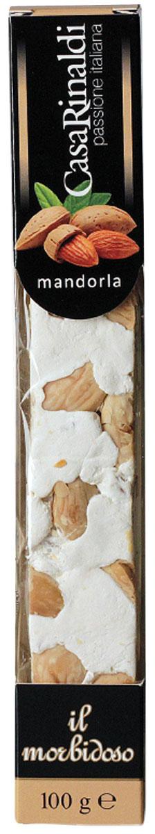 Casa Rinaldi Нуга-торроне Mondorla, 100 г casa rinaldi паста калабрийская ручной работы 500 г