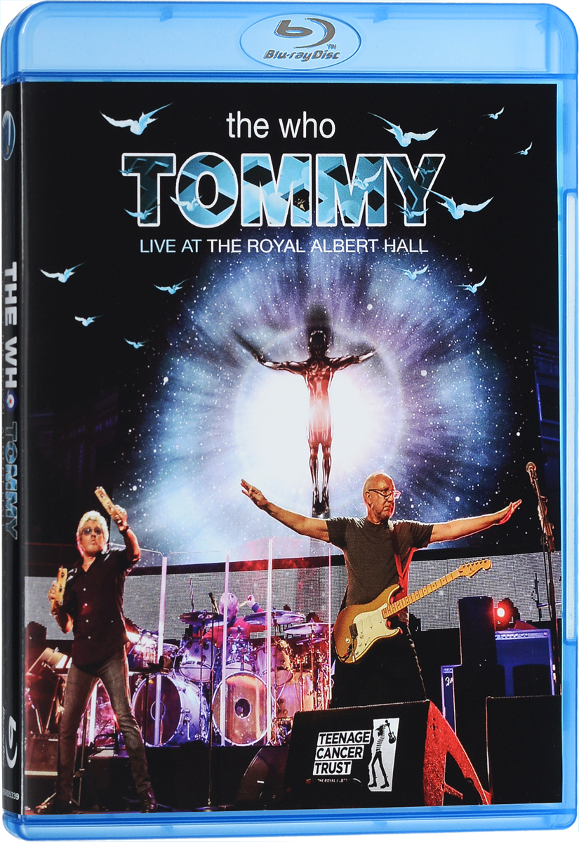 The Who: Tommy: Live At The Royal Albert Hall (Blu-ray) the weavers the weavers reunion at carnegie hall 1963 lp