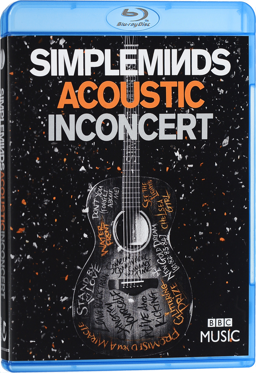 Simple Minds: Acoustic In Concert (Blu-ray) signed bts jin autographed photo love yourself 4 6 inches freeshipping 092017c