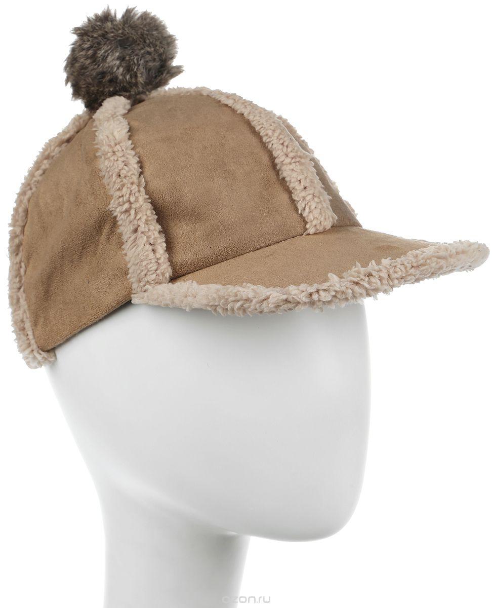 Шапка женская Bradex, цвет: бежевый. AS 0301. Размер универсальный шапка женская bradex цвет розовый as 0298 размер универсальный