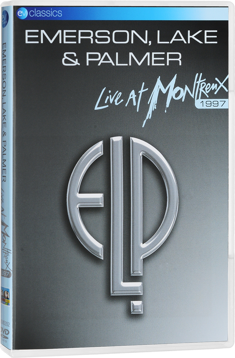 Emerson, Lake & Palmer: Live At Montreux 1997 world vision t63