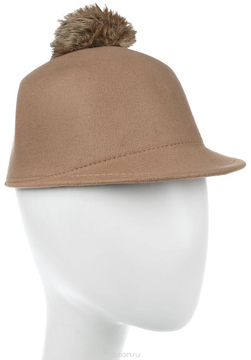 Шапка женская Bradex, цвет: бежевый. AS 0304. Размер универсальный