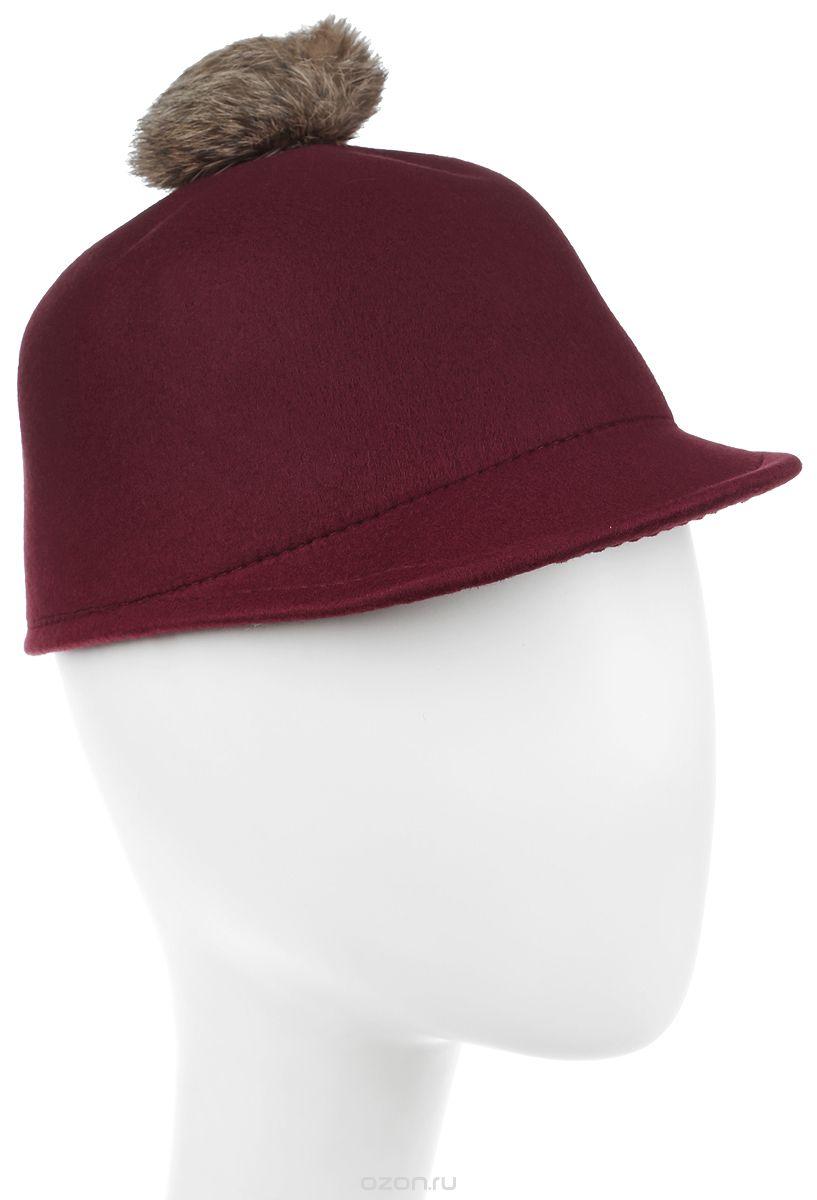 Шапка женская Bradex, цвет: бордовый. AS 0303. Размер универсальный шапка женская bradex цвет розовый as 0298 размер универсальный