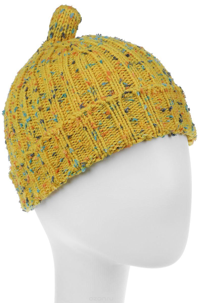 Шапка женская Bradex, цвет: желтый. AS 0299. Размер универсальныйAS 0299Самый практичный головной убор на межсезонье - шапка Bradex классической формы с отворотом, выполненная из акриловой пряжи. Жизнерадостный цвет с цветными вкраплениями идеально подойдет к любой верхней одежде и освежит образ.