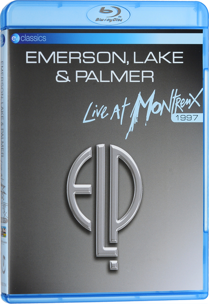 Emerson, Lake & Palmer: Live At Montreux 1997 (Blu-ray) anna netrebko live from the salzburg festival 3 blu ray