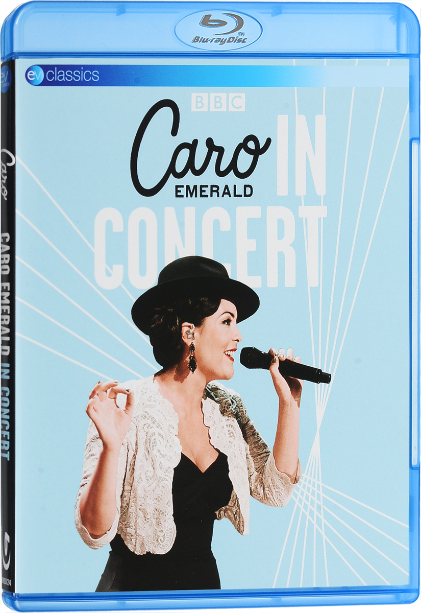 Caro Emerald: In Concert (Blu-ray) black sexy lace up design plain halter sleeveless crop top