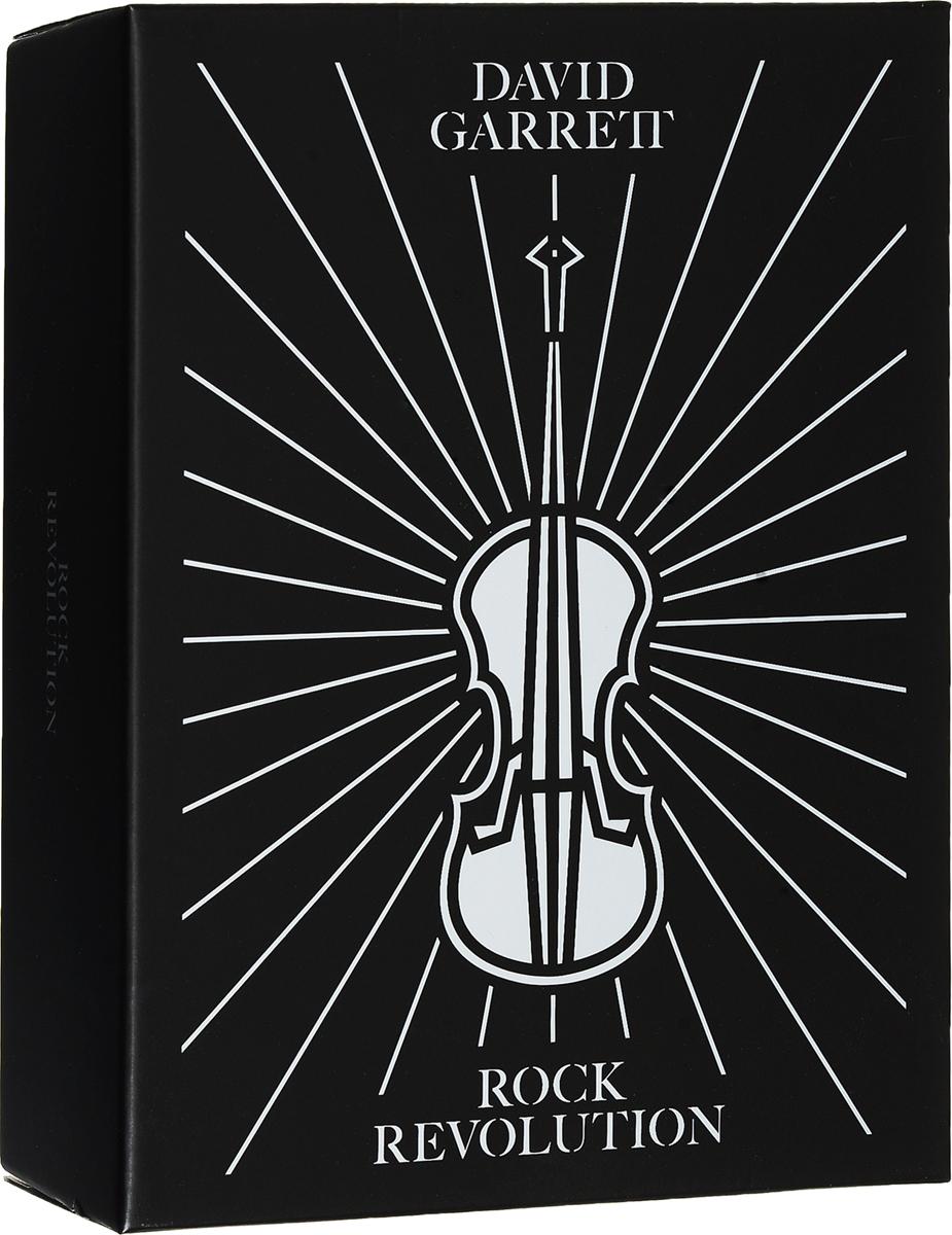 Дэвид Гарретт David Garrett. Rock Revolution (Fanbox) (CD + DVD) david garrett rock revolution cd dvd