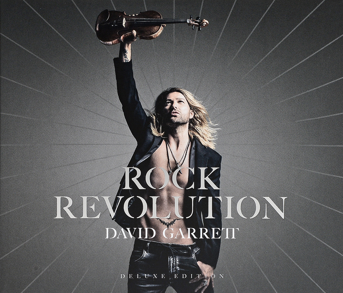 Дэвид Гарретт David Garrett. Rock Revolution (2 CD) stylish hollow out heart bow design two color lenses sunglasses for women