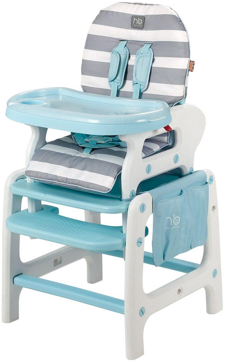 Happy Baby Стульчик для кормления Oliver цвет голубой