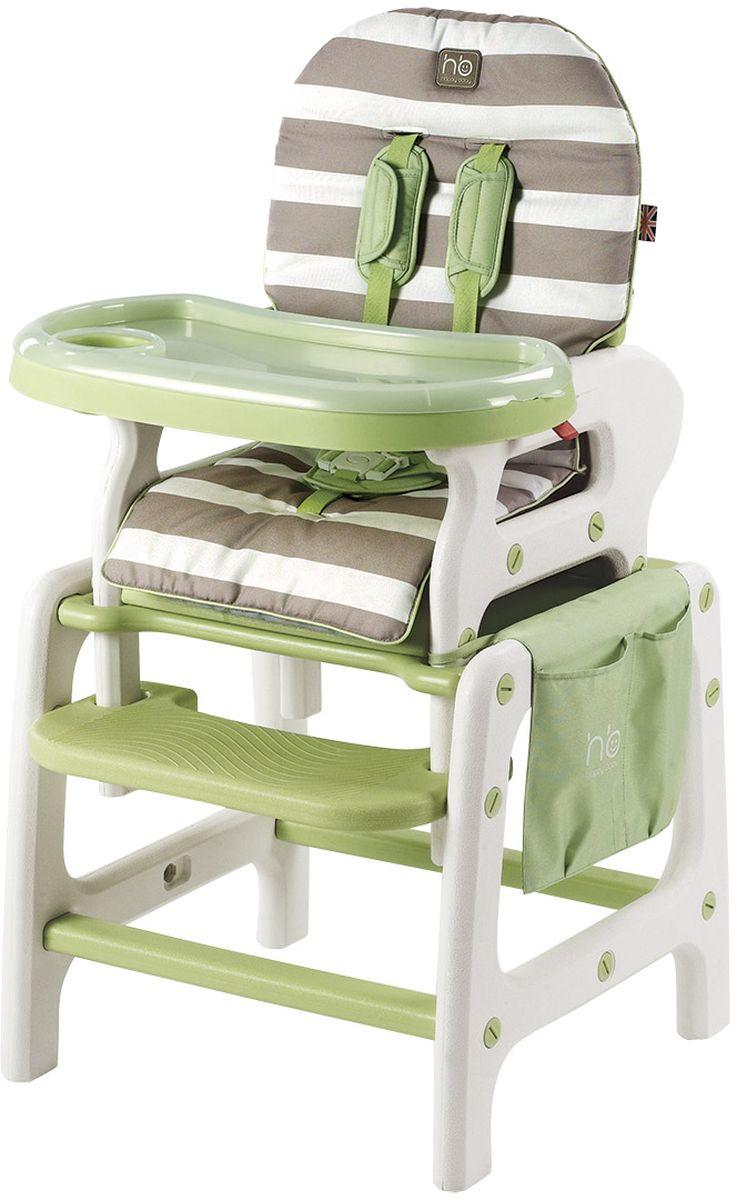 Happy Baby Стульчик для кормления Oliver цвет светло-зеленый