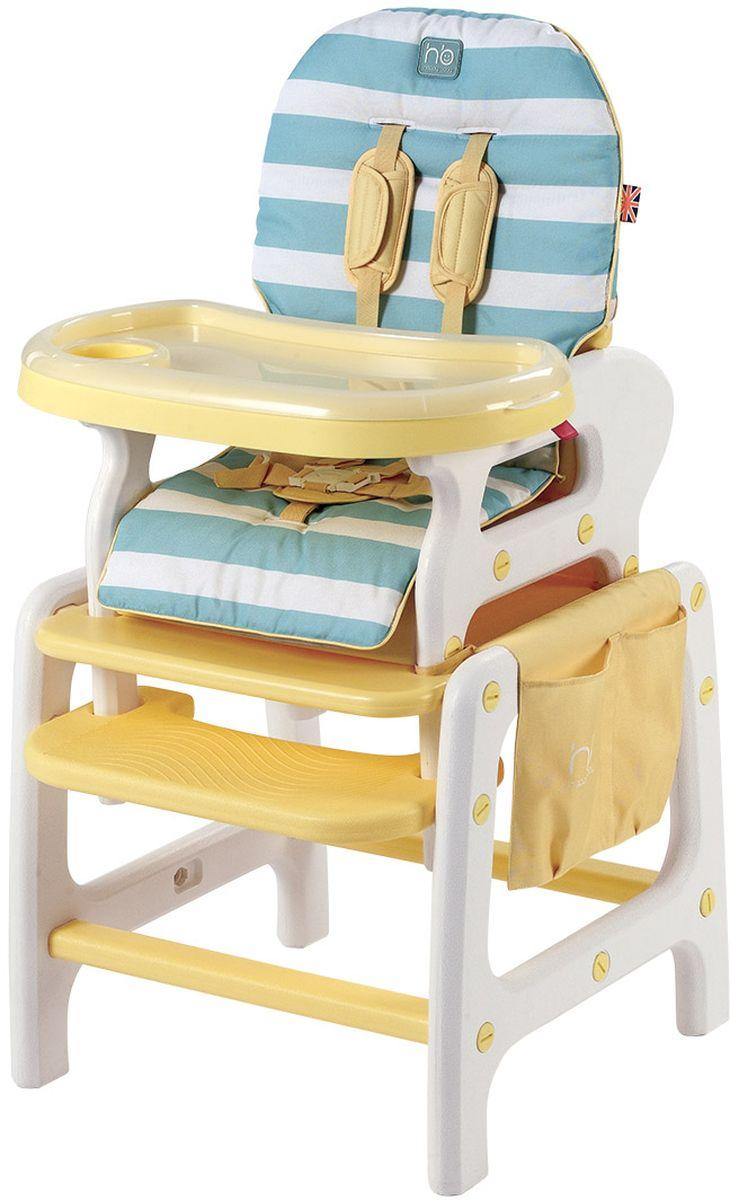 Happy Baby Стульчик для кормления Oliver цвет желтый sweet baby стульчик для кормления luxor classic arancione