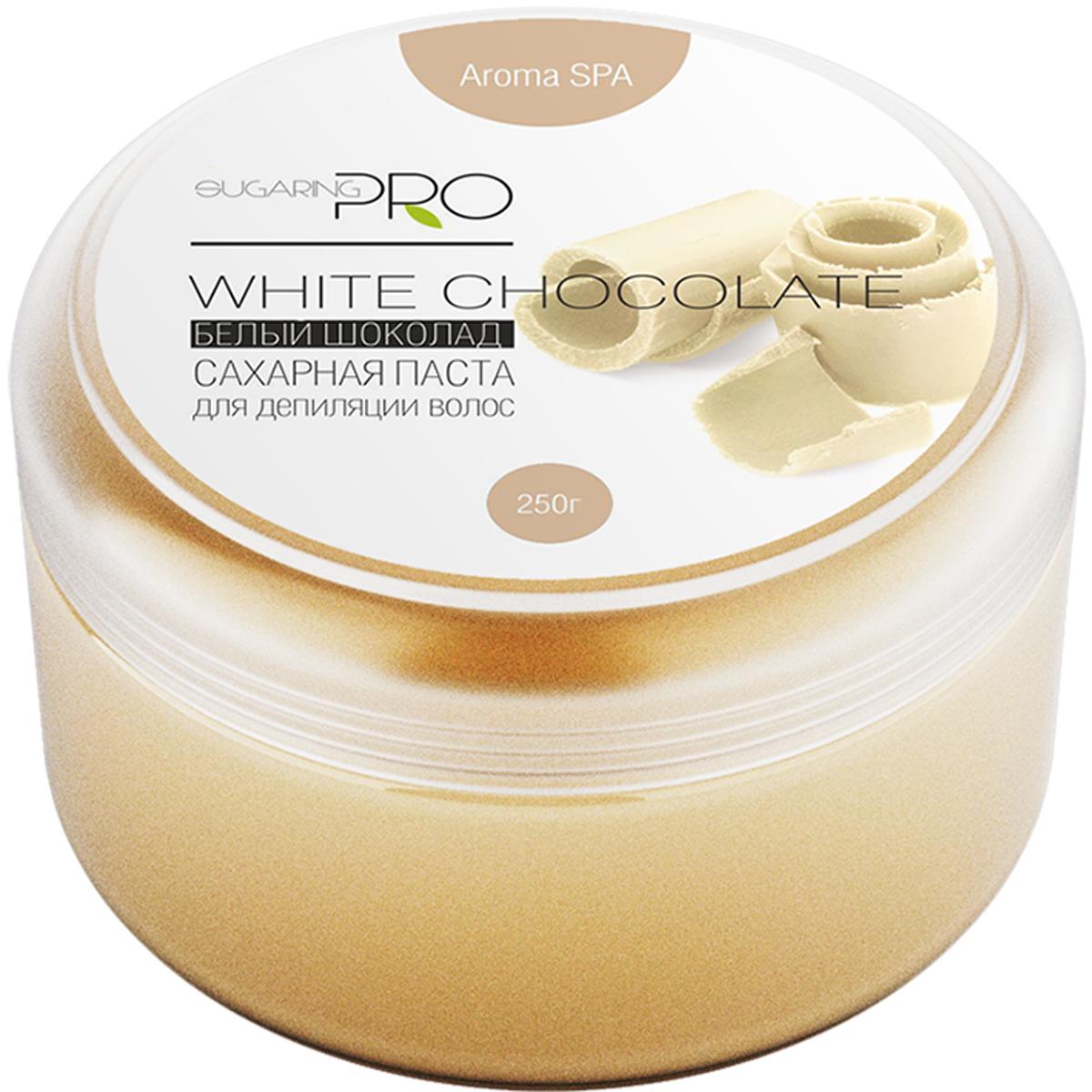 Сахарная паста SUGARING PRO Белый шоколад универсальная , 250 гУТ000008523Белый шоколад помогает повысить настроение и избавится от депрессии. Не содержит кофеина. Гипоаллергенен.Универсальная сахарная паста предназначена для депиляции всех типов волос (шугаринга) на любом участке кожи.При удалении волос не травмирует живые клетки кожи. Гипоаллергенна. Не вызывает раздражения. Эффекта хватаетна 3 – 4 недели. Постэпиляционный уход: Избегайте использования душистых увлажняющих кремов на обработанных участка,дезодорантов первые 24 часа после процедуры. Дезодорант можно заменить на тальк. Избегайте длительногопребывания на солнце или солярии. Желательно отказаться от посещения сауны и бассейна первые 24 час. Примечание: Продукт хранить в прохладном и сухом месте. Только для наружного применения. Гарантия качества: Товар сертифицирован. Прошел дерматологический контроль.