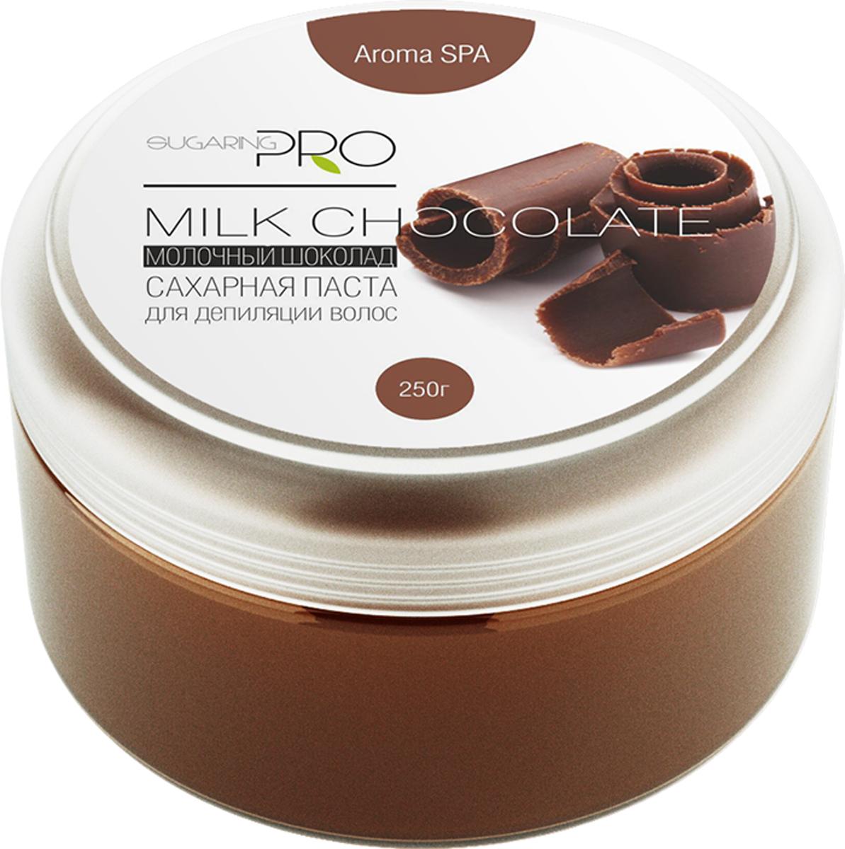 Сахарная паста SUGARING PRO  Молочный шоколад  универсальная, 250 г - Бритье и депиляция