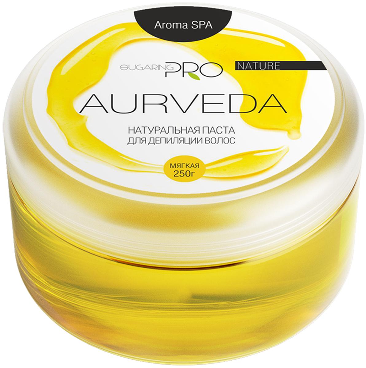 Сахарная паста SUGARING PRO Аюрведа мягкая, 250 гУТ000020165Универсальная паста мягкой плотности подходит для удаления всех типов волос на любом участке тела. Сохраняет живые клетки кожи, удаляя только омертвевшие чешуйки и волосы. Не вызывает аллергии и раздражения. Эффекта хватает на 3-4 недели. Постэпиляционный уход: Избегайте использования душистых увлажняющих кремов на обработанных участка, дезодорантов первые 24 часа после процедуры. Дезодорант можно заменить на тальк. Избегайте длительного пребывания на солнце или солярии. Желательно отказаться от посещения сауны и бассейна первые 24 час. Примечание: Продукт хранить в прохладном и сухом месте. Только для наружного применения. Гарантия качества: Товар сертифицирован. Прошел дерматологический контроль.