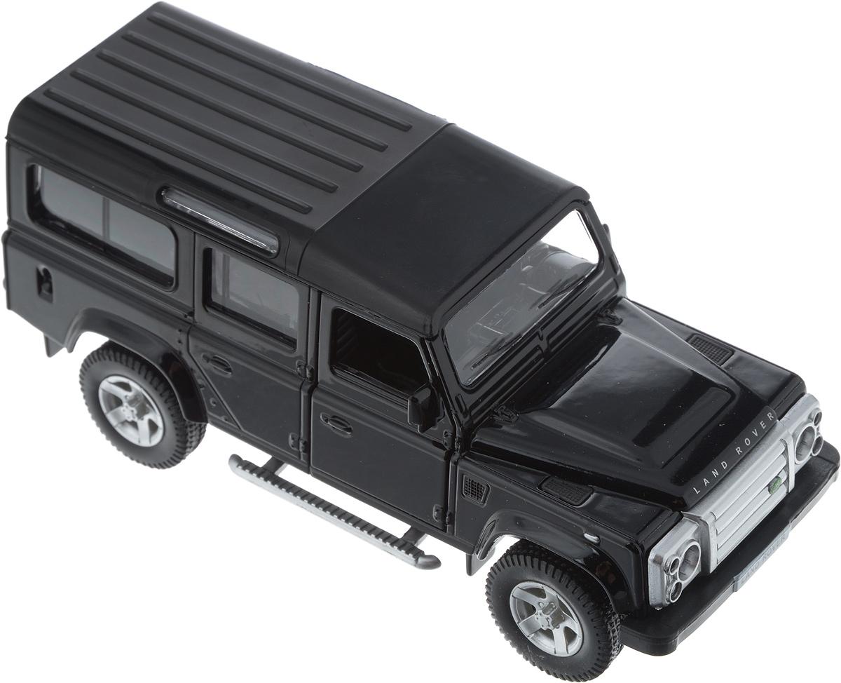 Autotime Модель автомобиля Land Rover Defender цвет черный autotime модель автомобиля uaz 39625 дорожные работы